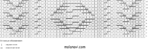 мужской вязаный свитер спицами схема