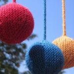 новогодние вязаные шары схемы