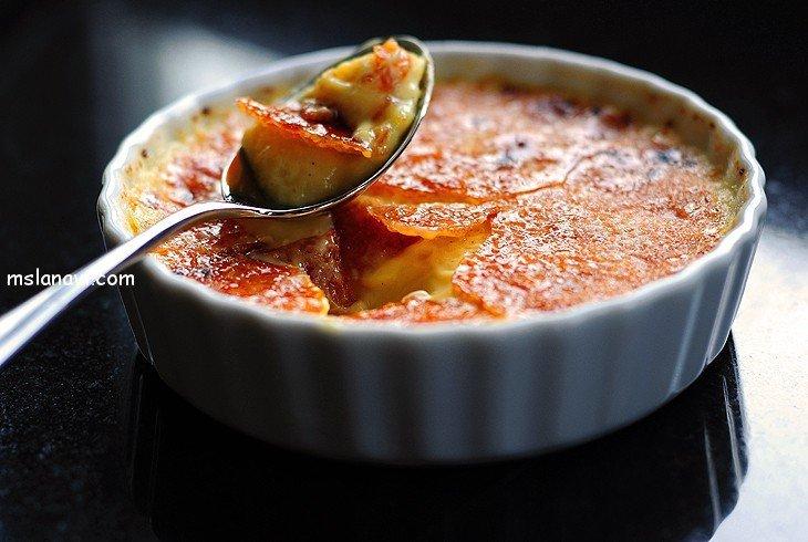 десерт крем брюле