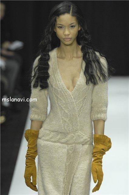 язаные платья спицами фото