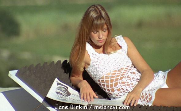 Сексуальное платье от Jane Birkin
