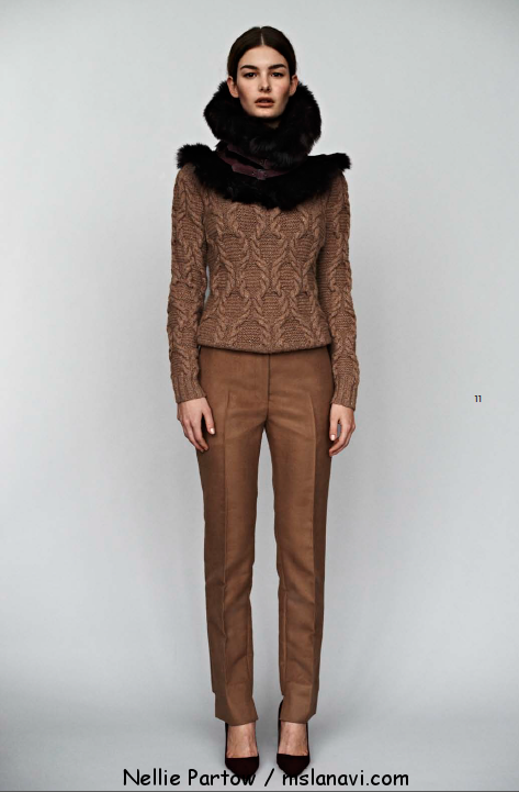 вязаные модели Nellie Partow пуловеры