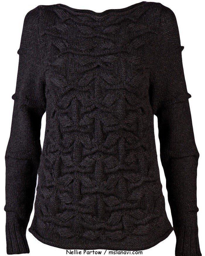 вязаные модели Nellie Partow свитер