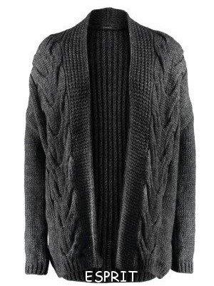 вязаные пальто +и кардиганы спицами ESPRIT 90
