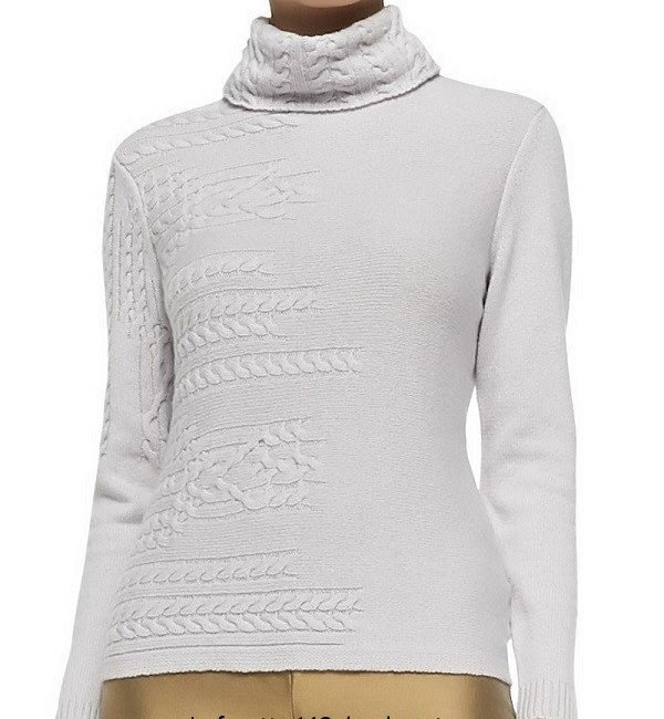 Красивый вязаный пуловер Lafayette 148 New York