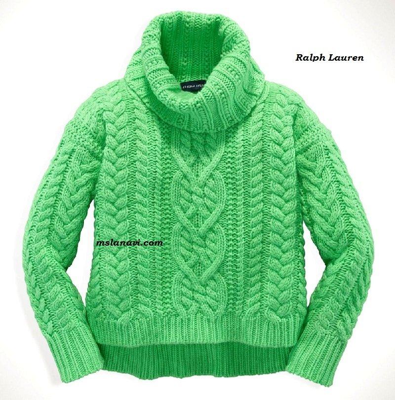 Детский вязаный свитер СХЕМЫ