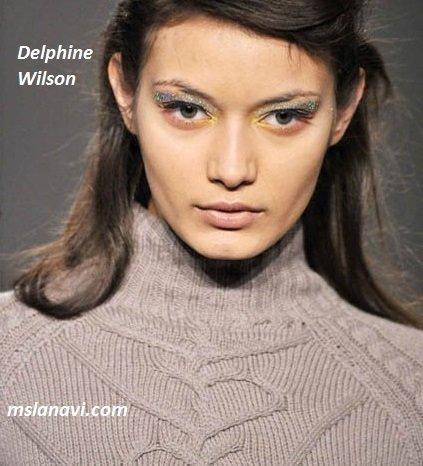 фото вязаных моделей спицами от Delphine Wilson 4