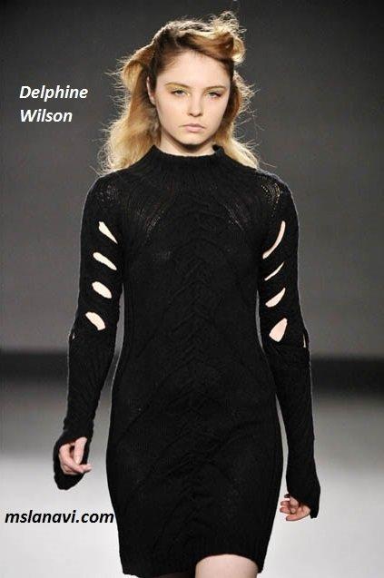 фото вязаных моделей спицами от Delphine Wilson 7
