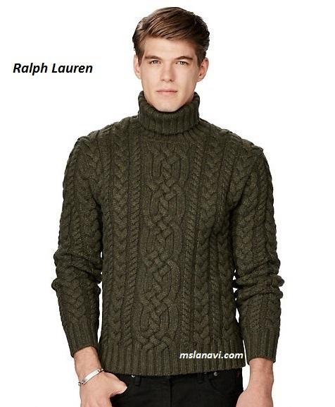 Вязаный свитер для мужчин