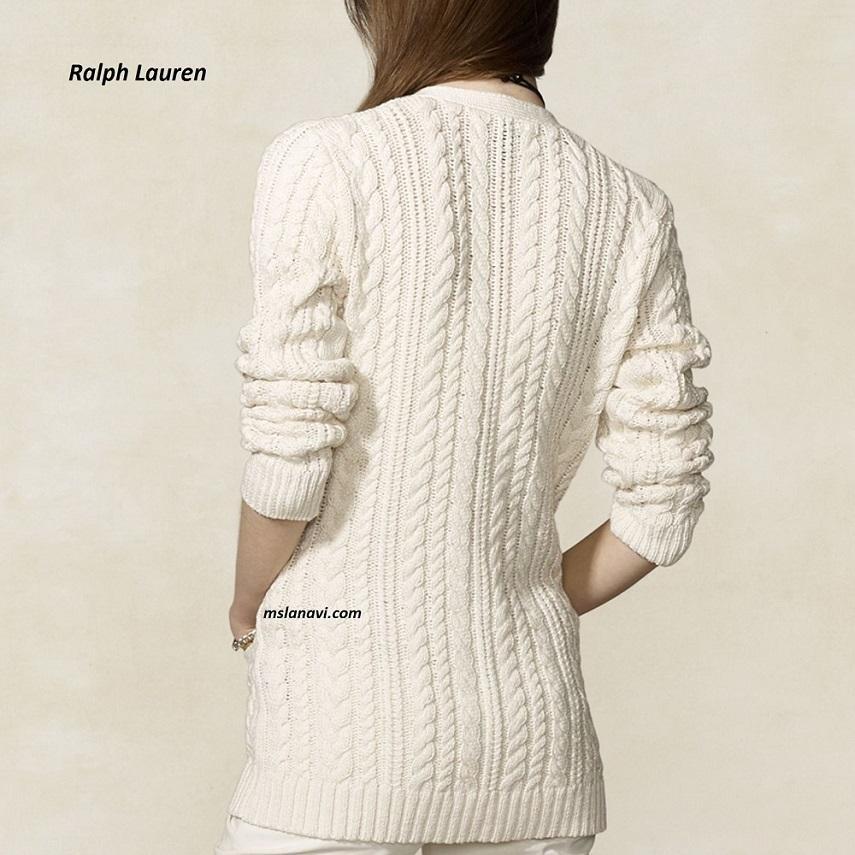 Жакет спицами от Ralph Lauren