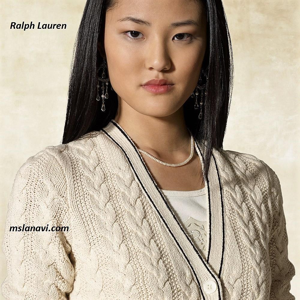 Летний жакет спицами от Ralph Lauren
