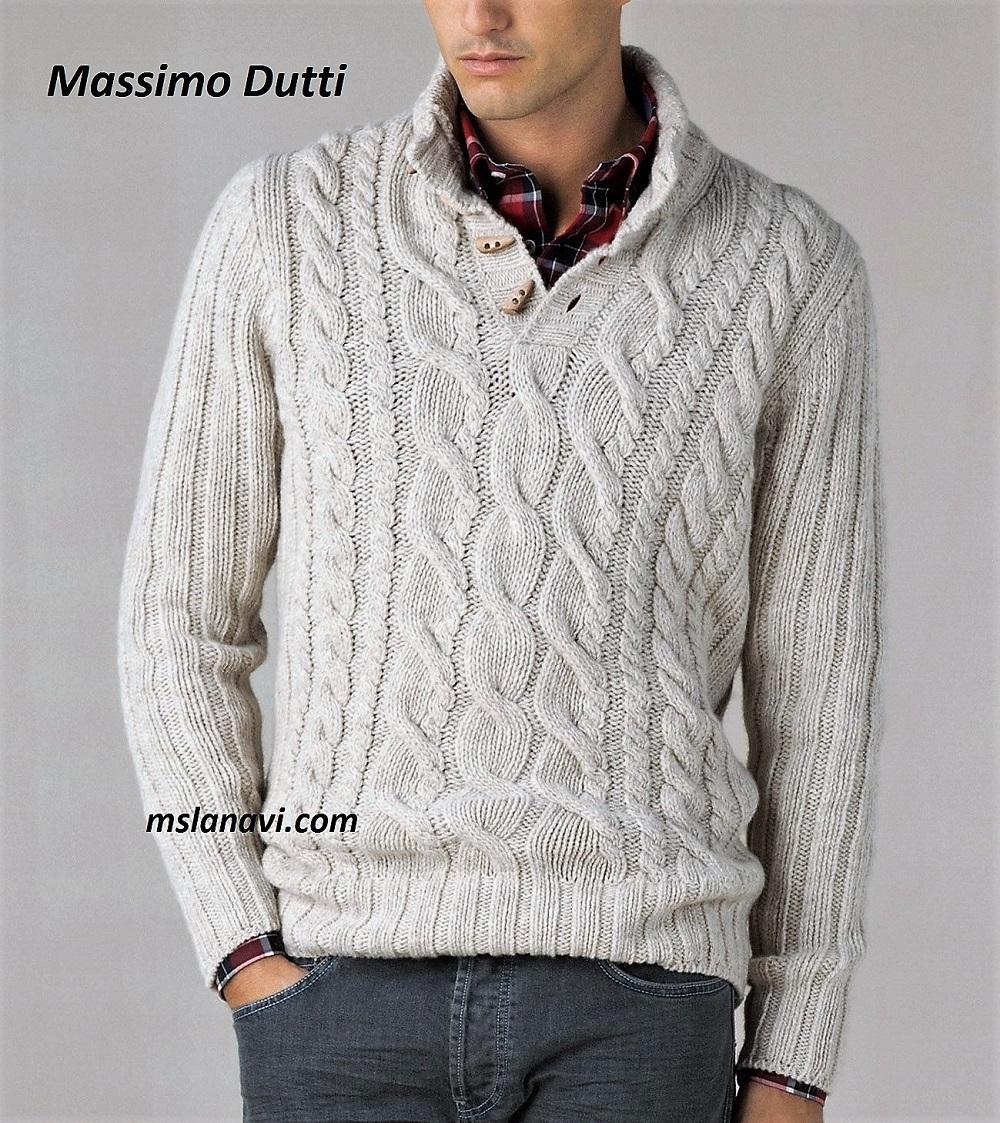Мужской свитер от Massimo Dutti
