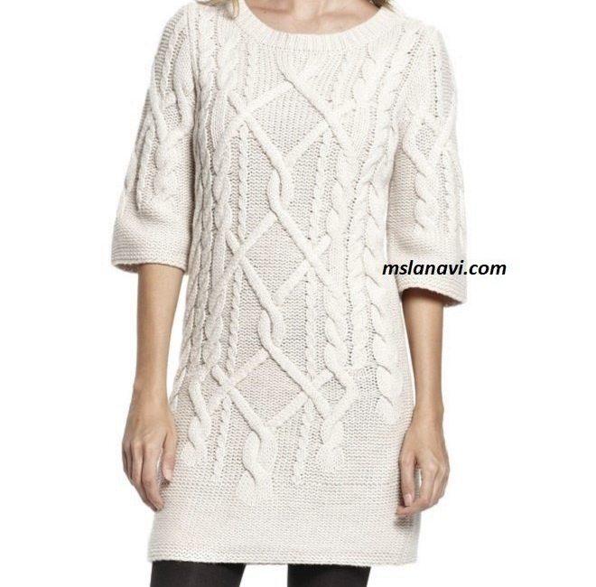 Платье красивыми аранами от Hugo Boss