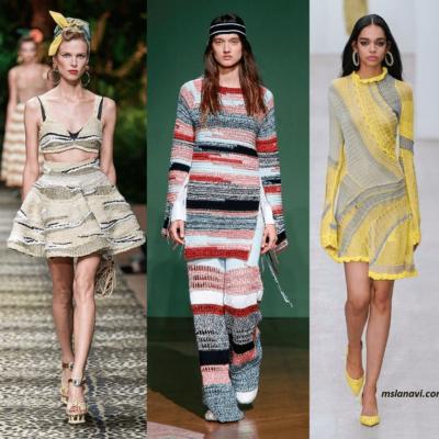 Модные вязаные модели спицами и крючком, весна-лето 2020
